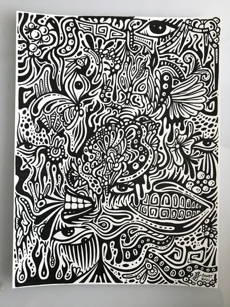 Image of Stream Of Consciousness Doodle #2