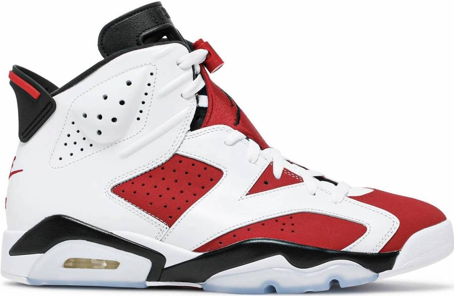 "Image of Nike Retro Air Jordan 6 ""Carmines"" Mens"