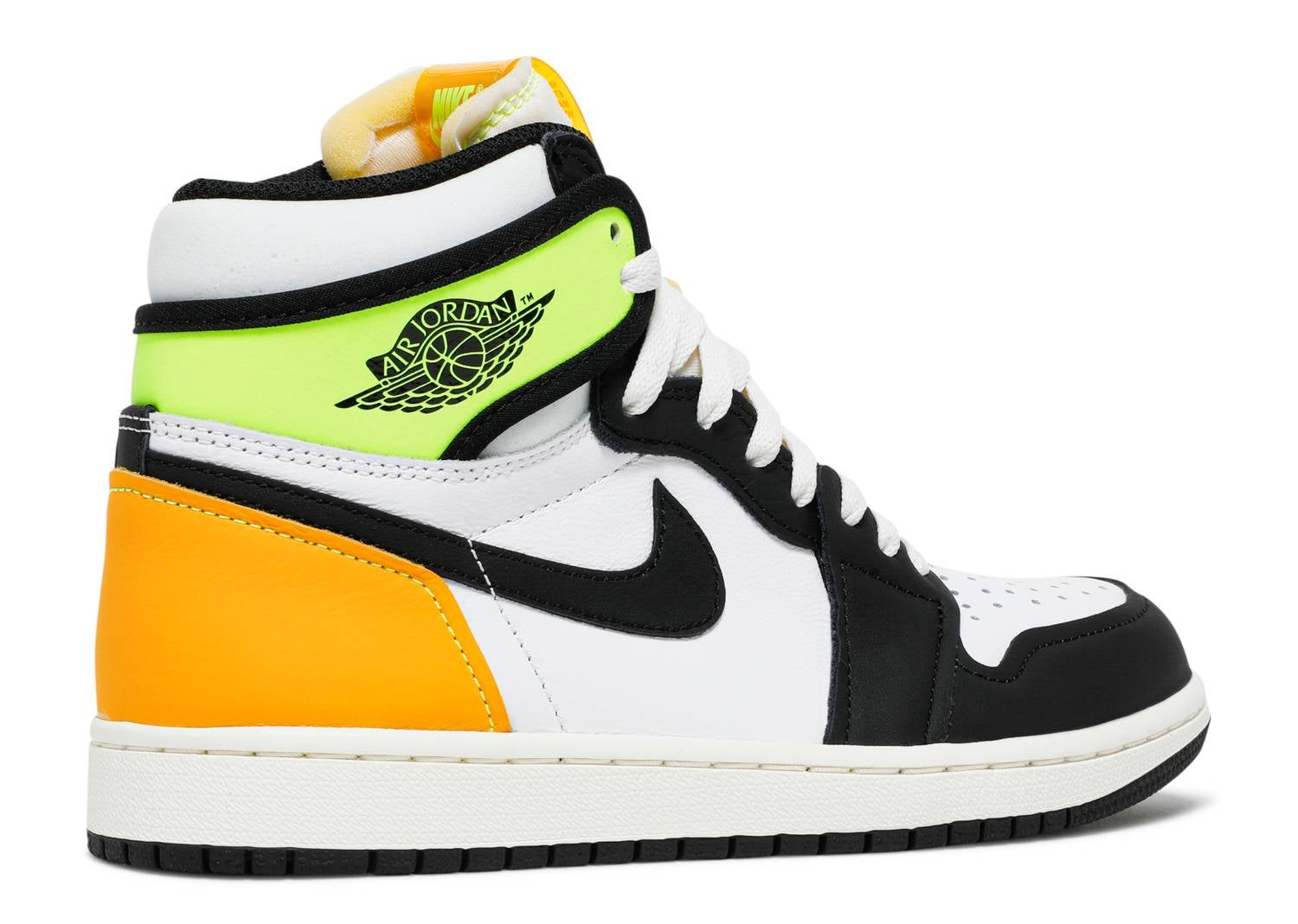 "Image of Nike Retro Air Jordan 1 ""Volt"" GS"