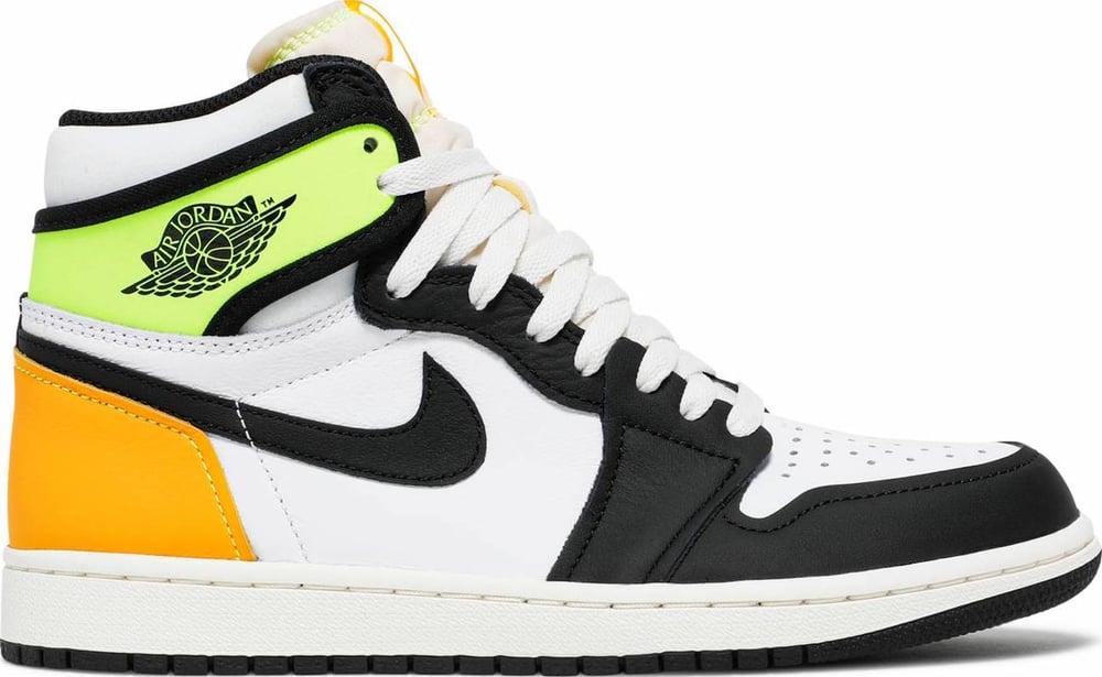 """Image of Nike Retro Air Jordan 1 """"Volt"""" Mens"""