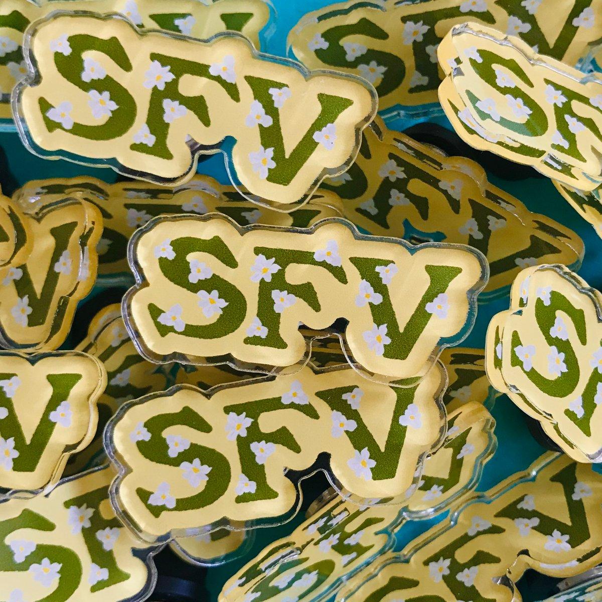 Image of SFV Acrylic Pin