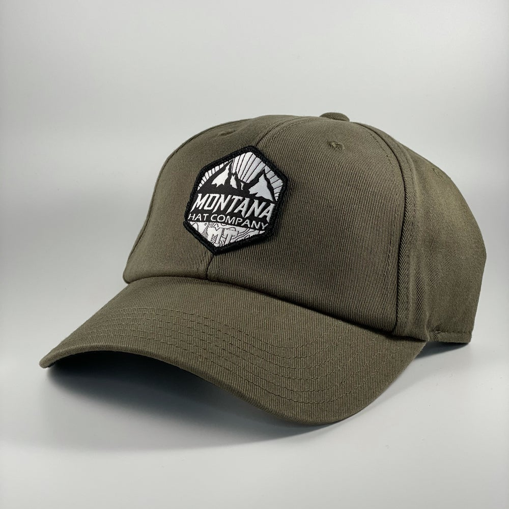 Image of Montana Summit - Dad Hat - Olive