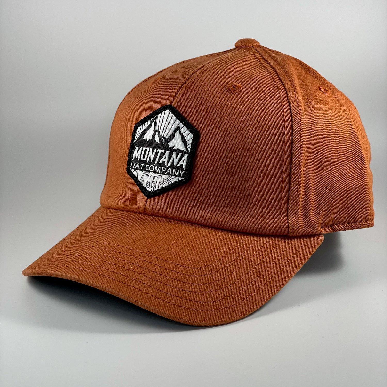 Image of Montana Summit - Dad Hat - Rust
