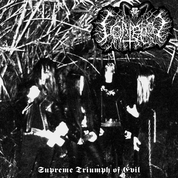 "Special: Goatblood - ""Supreme Triumph of Evil"" CD + lyric sheet"