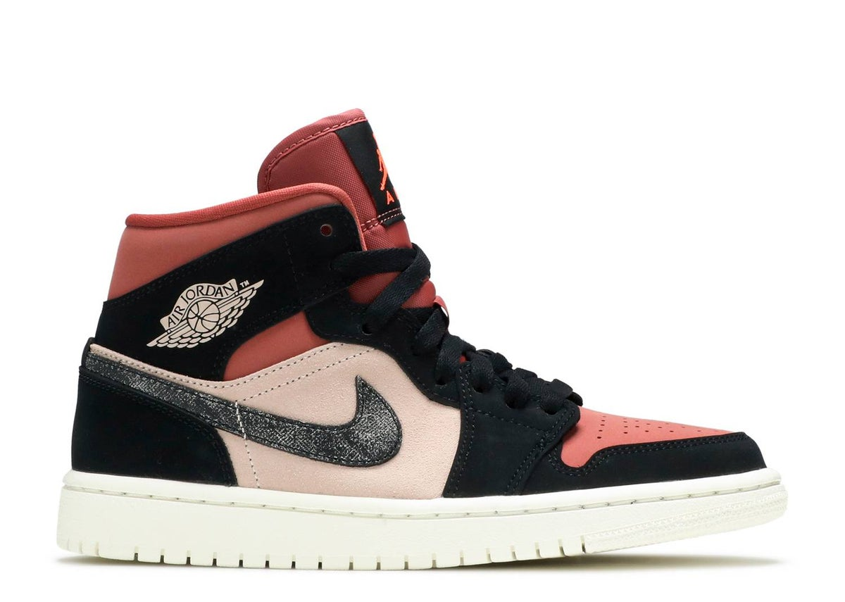 Image of Jordan 1 Mid w Canyon Rust