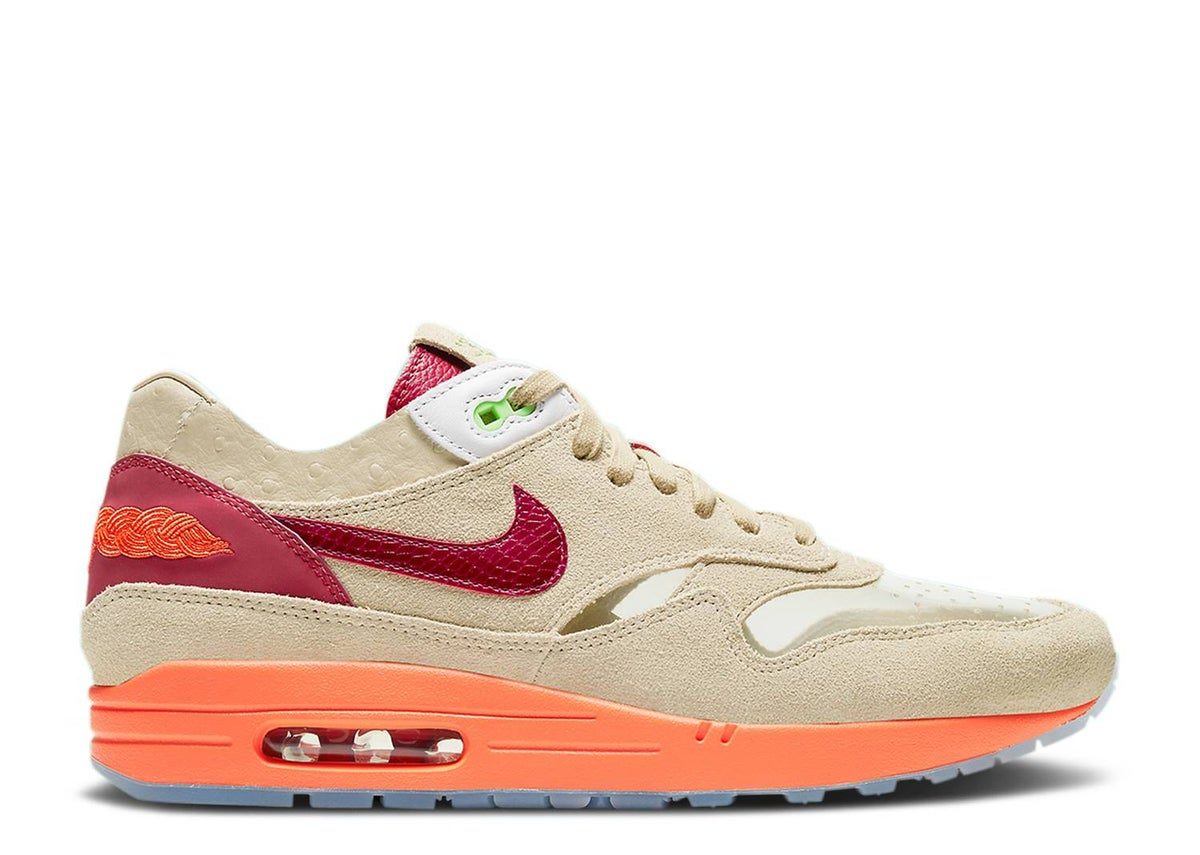 Image of CLOT X AIR MAX 1 'KISS OF DEATH' 2021