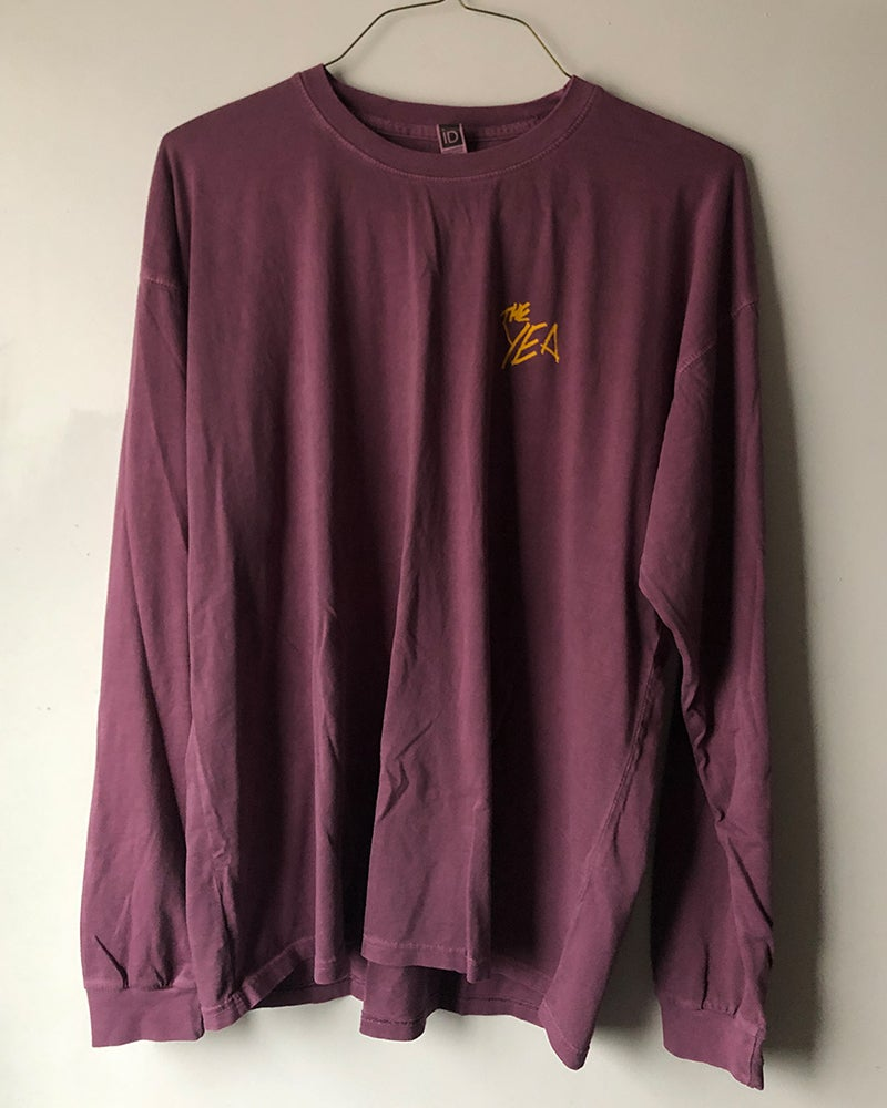 Image of Purple Long Sleeve Tee