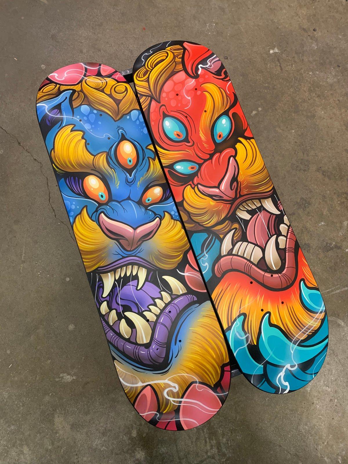 Image of Foo Dog Original Skate Decks