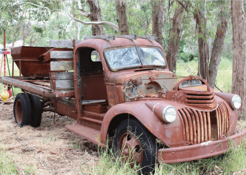 Image of T43 Old Truck - NEW!