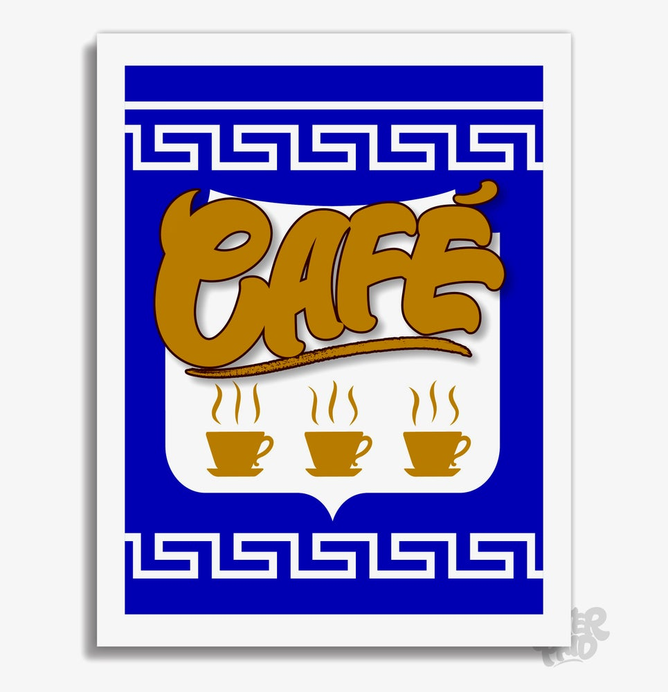 Image of Anthora - Café Archival Print (Version 1)