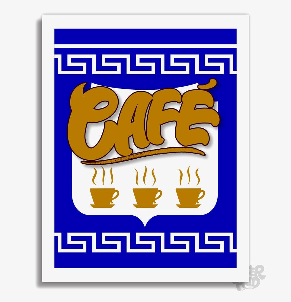 Image of Anthora - Café Archival Print (Version 1)