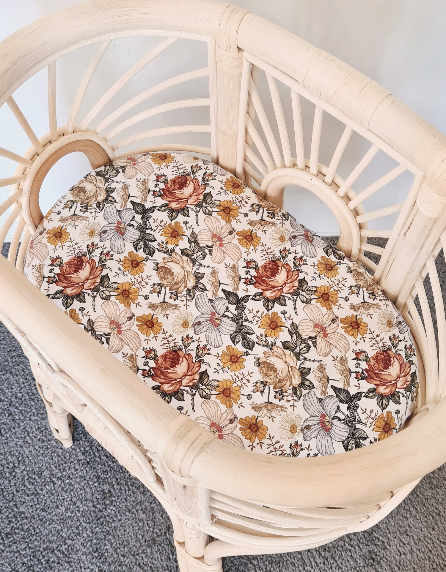 Image of Aurora Rust Fitted Sheets