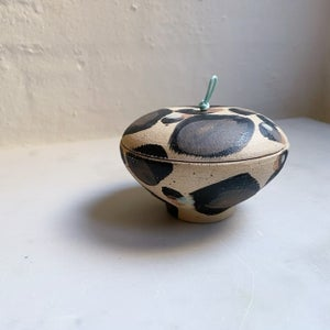 Image of Lidded jar #1