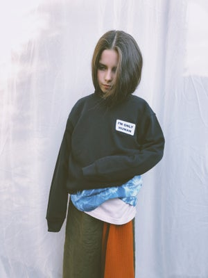Human Patch Sweater