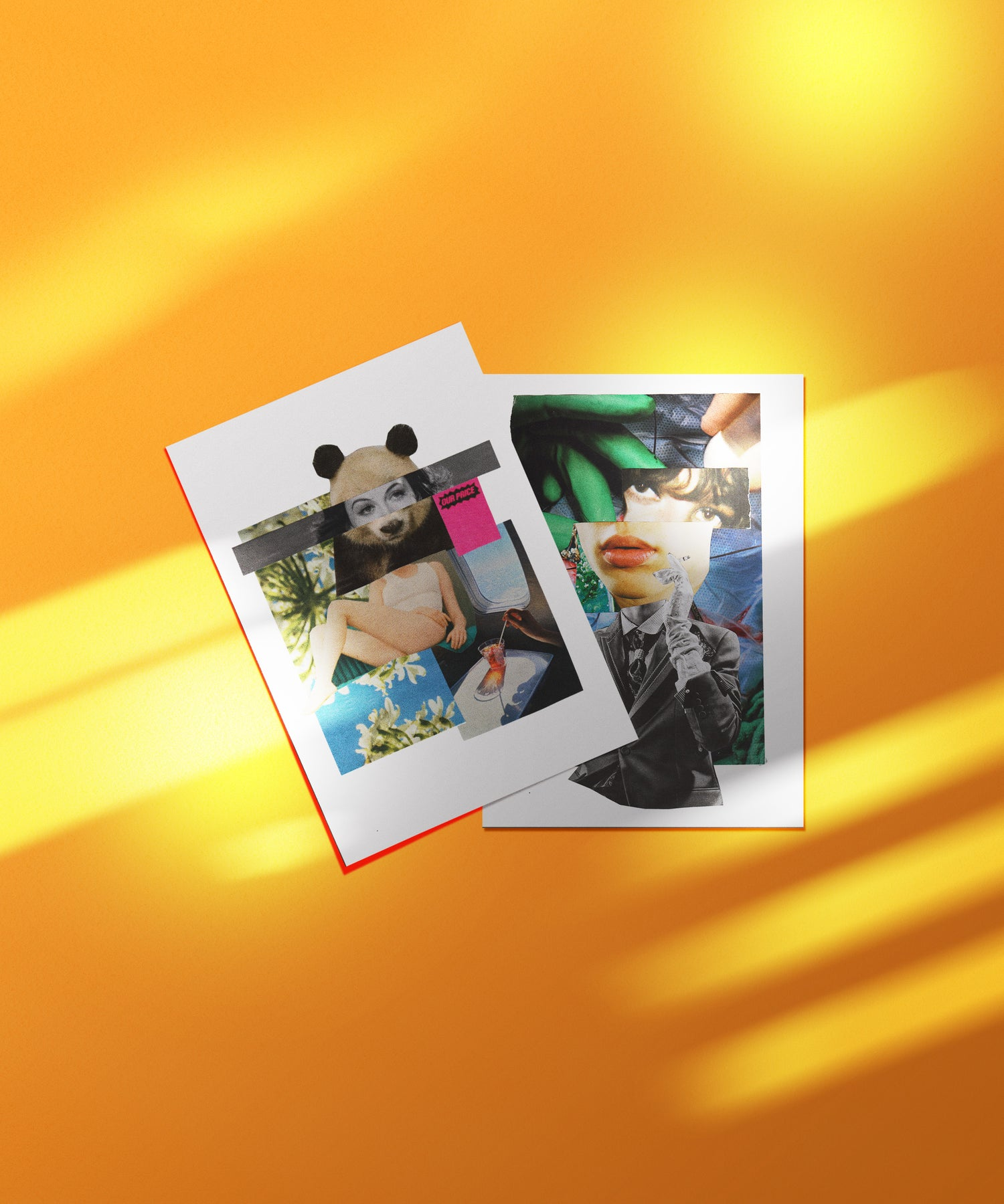 Image of Conflicting Messages Postcard Set