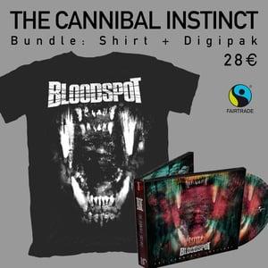 Image of THE CANNIBAL INSTINCT - Bundle: Digipak + TCI-Shirt