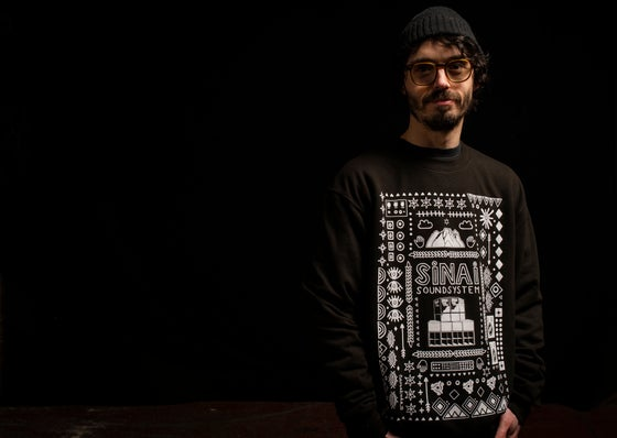 Image of Sinai Sound x Nem: Sweatshirt - Black