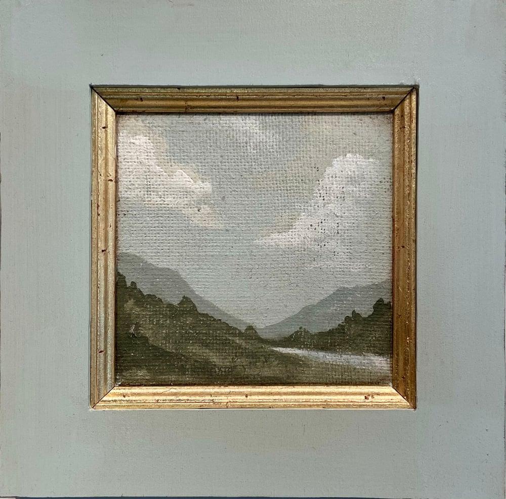 Image of Tuscan Landscape 14x14