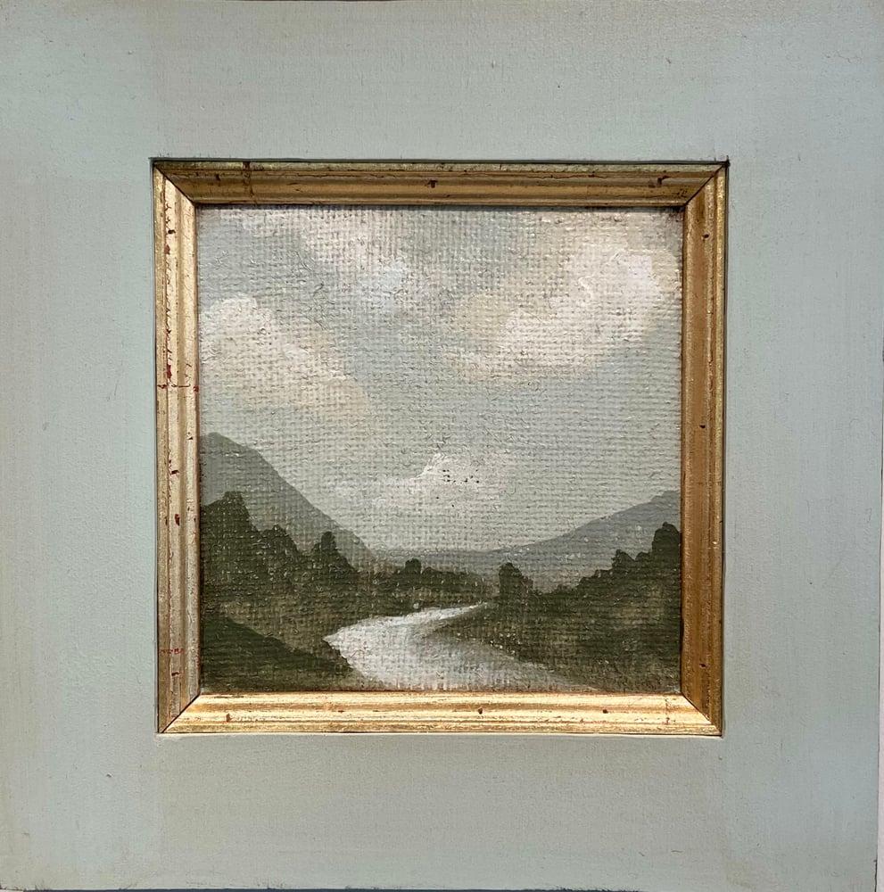 Image of Tuscan Landscape 2    14x14