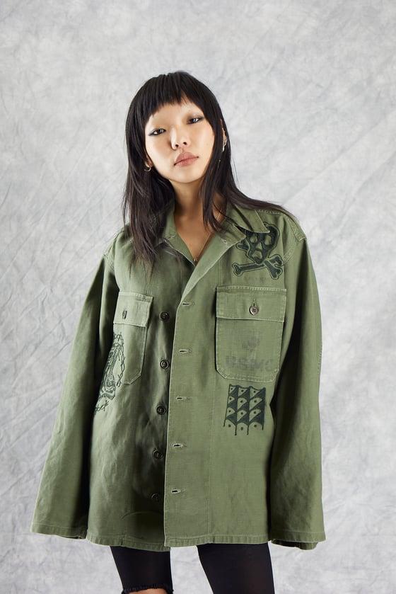 Image of stay chill bill vintage usmc jacket