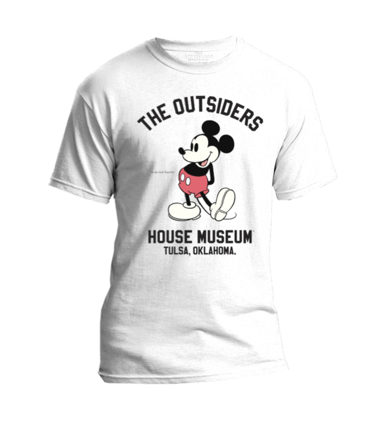 """Image of  """"Who You Calling Bums, Pal?"""" -Two-Bit. White Mouse T-Shirt"""