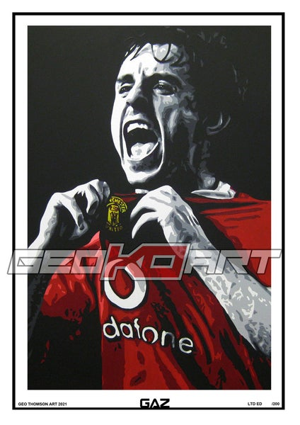 Image of GARY NEVILLE MAN UNITED