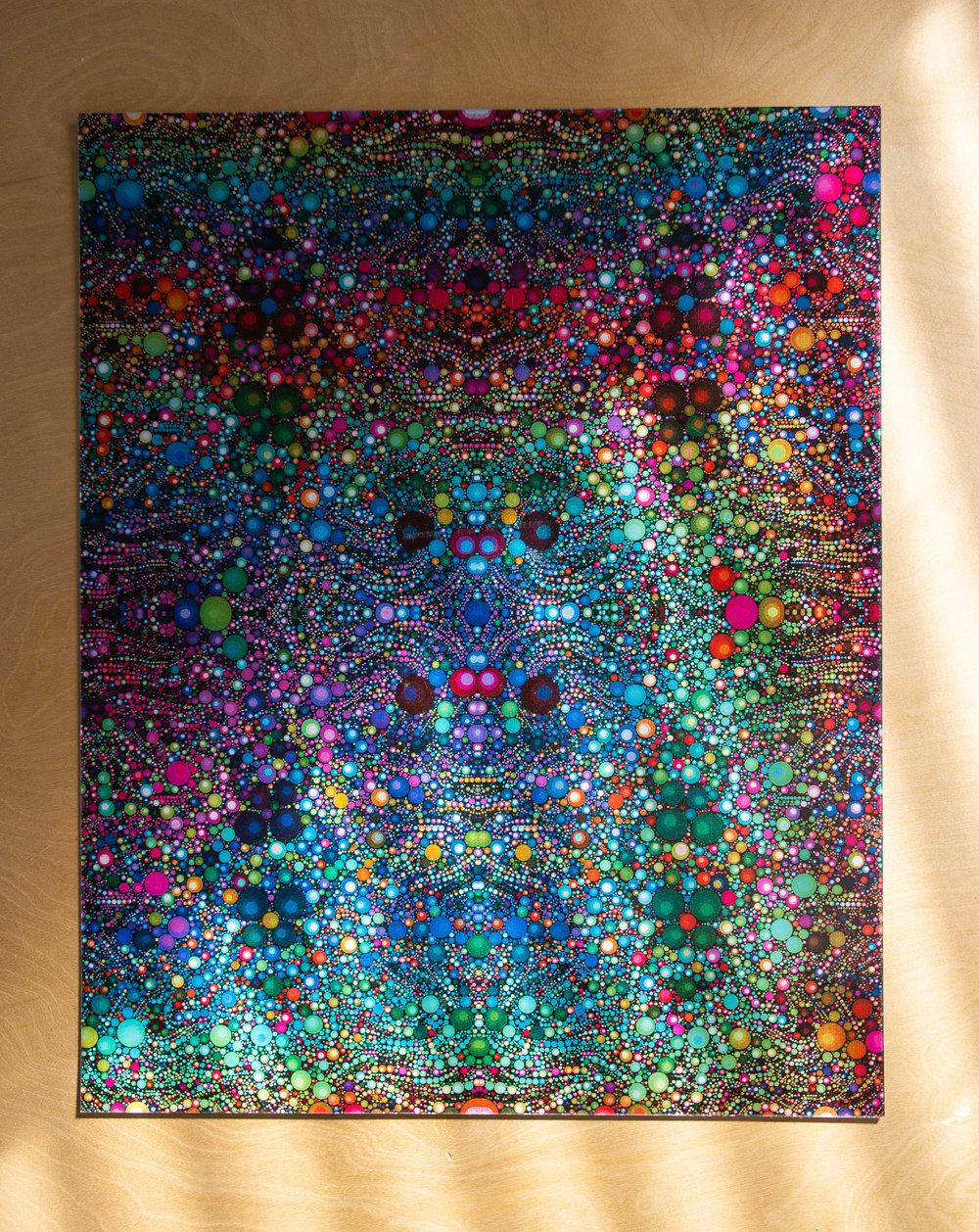 Infinite Reflections Lenticular Print