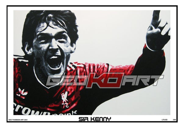 Image of KENNY DALGLISH SIR KENNY LIVERPOOL