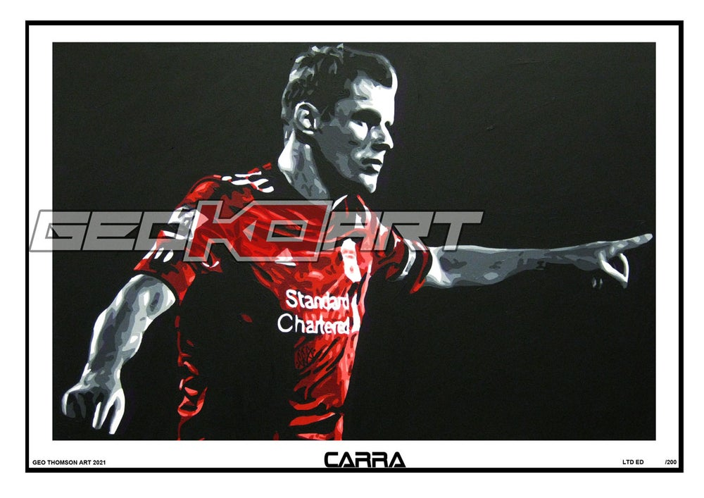 Image of JAMIE CARRAGHER LIVERPOOL FC