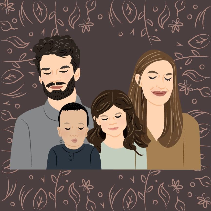 Custom Vector Illustrated Digital Portrait