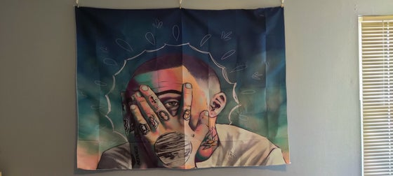 Image of Mac Miller Tapestry