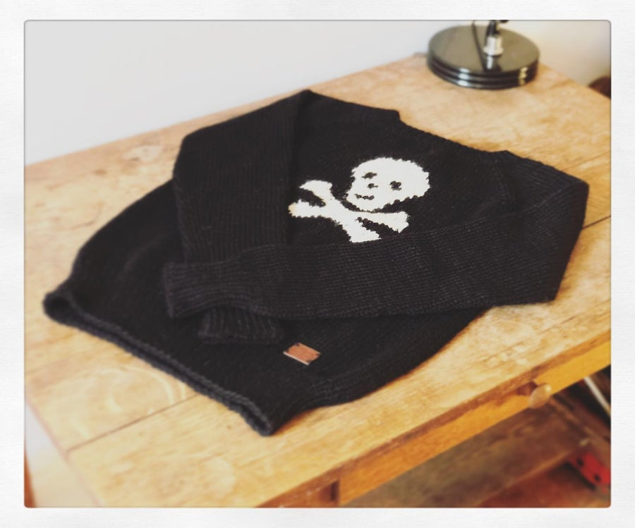 Image of Lillian Lafrance Skull Sweater