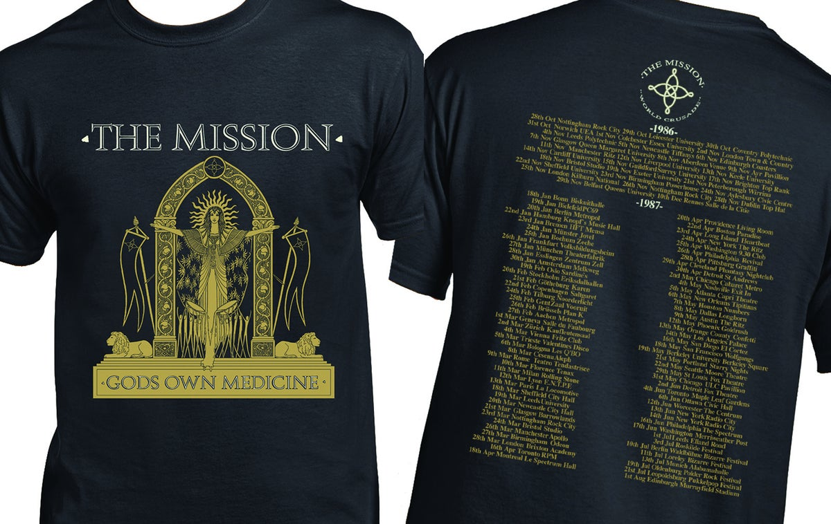 Image of World Crusade Vintage Design Shirt