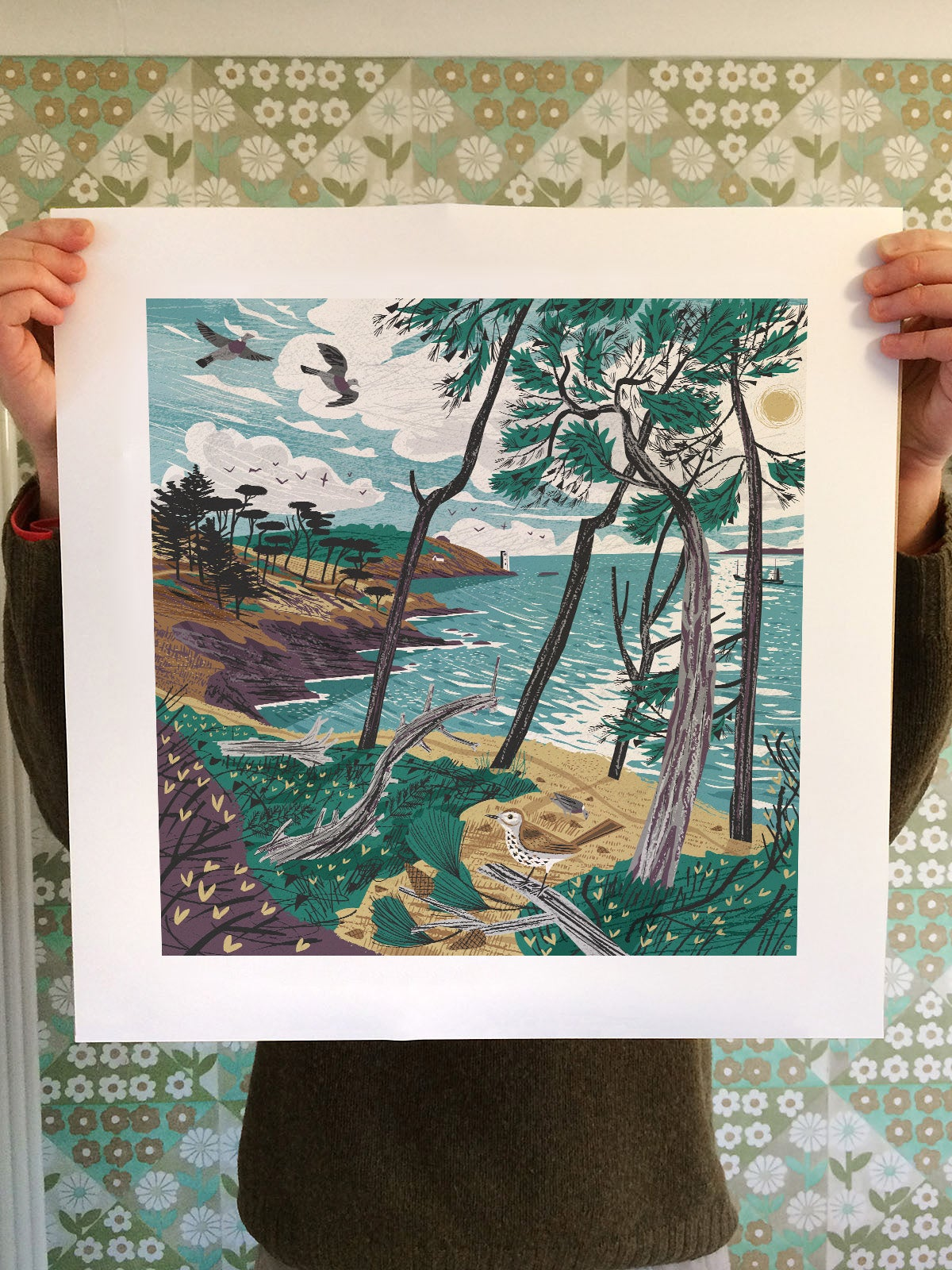 Image of St Anthony Pines Print