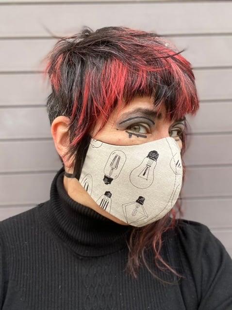 Image of You Ain't No Dim Bulb! (cause you wear a mask yo!)