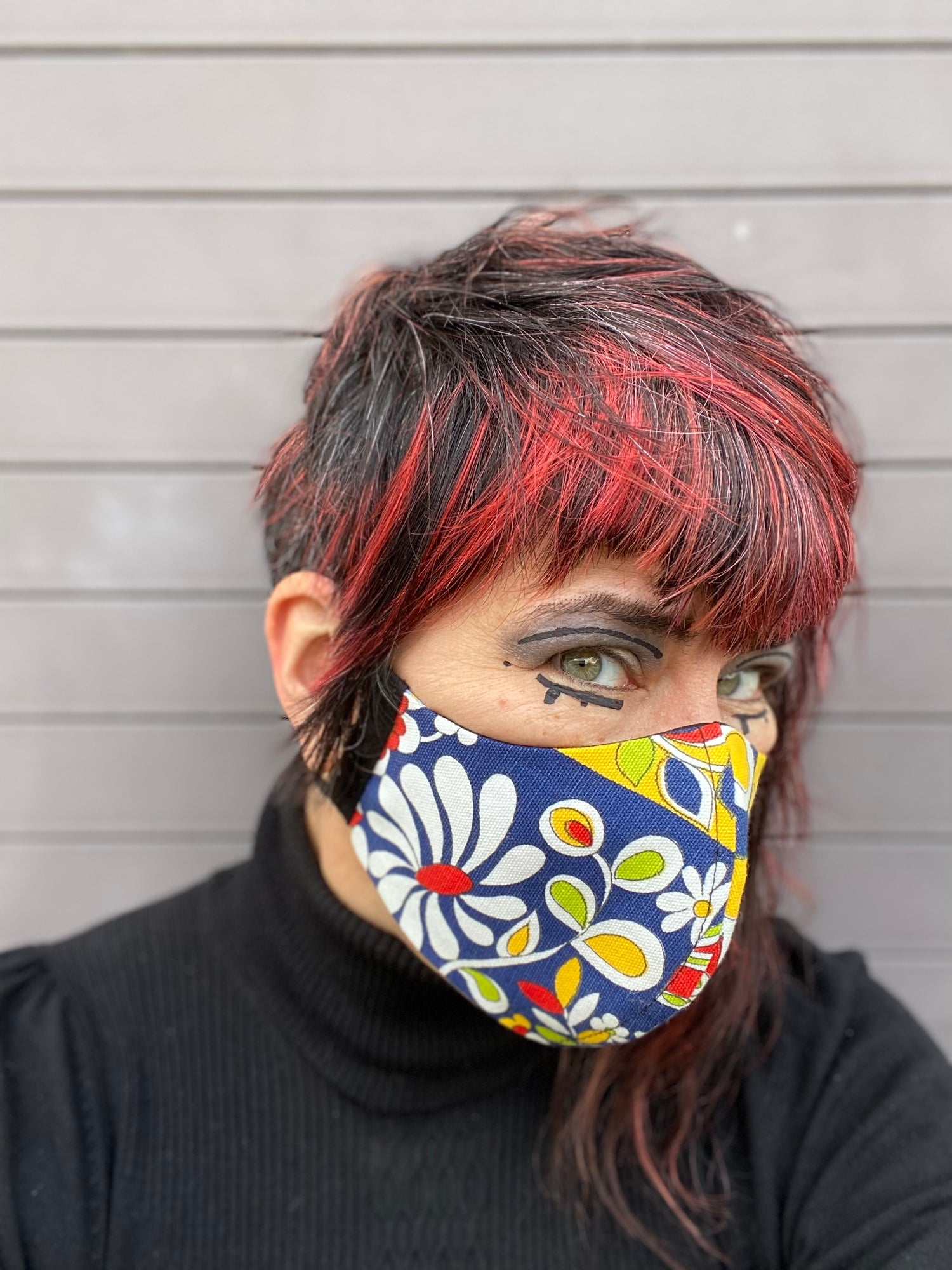 Image of This is a Modern World (well, modern mask...)