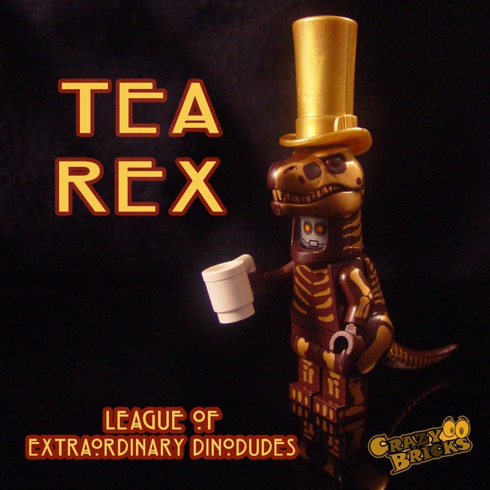Image of DELUXE STEAMPUNK DINOS - Tea Rex