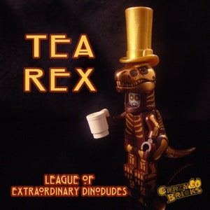 Image of DELUXE STEAMPUNK DINOS - Tea Rex