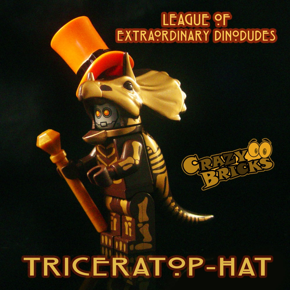 Image of  DELUXE STEAMPUNK DINOS - Triceratop-Hat