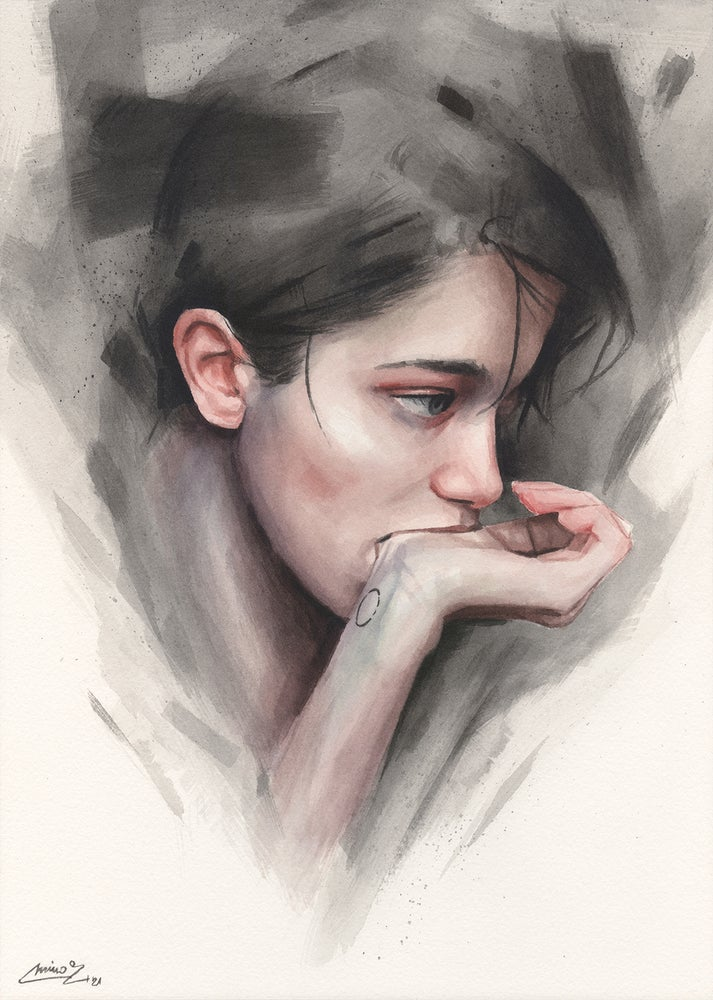 Image of Pensive