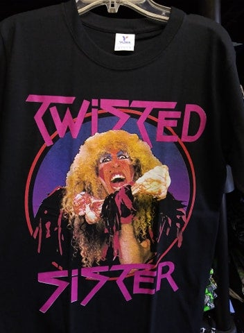 Twisted Sister Stay Hungry T-SHIRT *Imported*