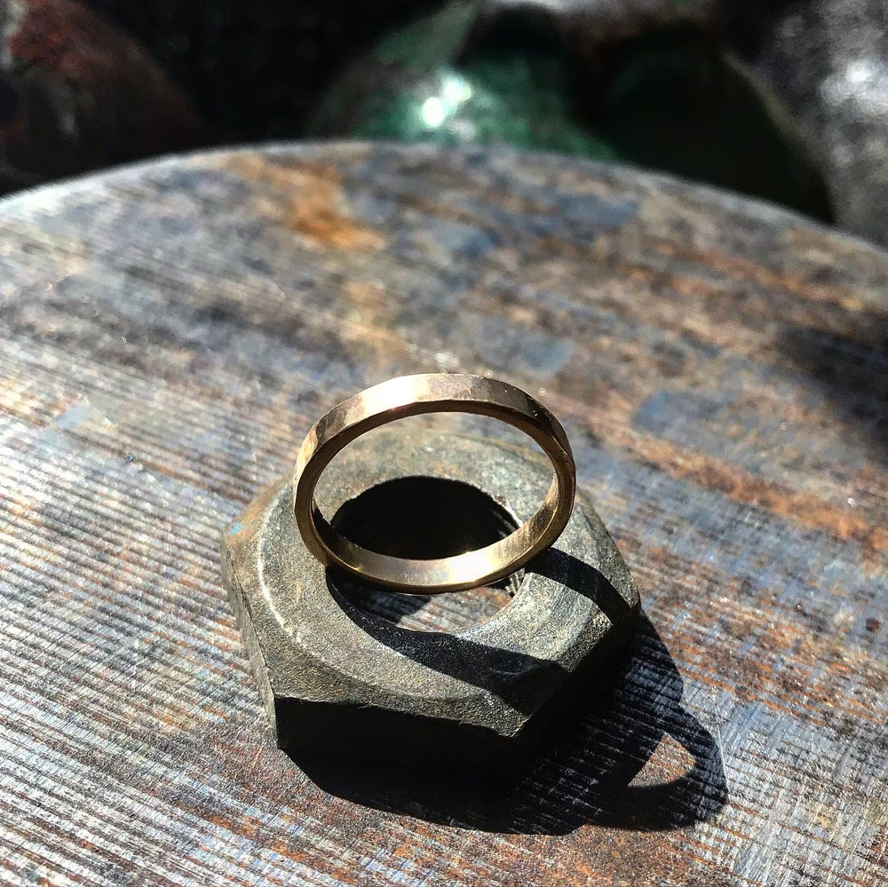 Image of 14k Yellow Gold Band