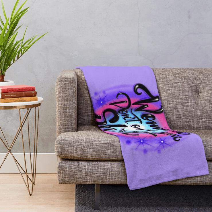 WDOYS (Throw Blanket)