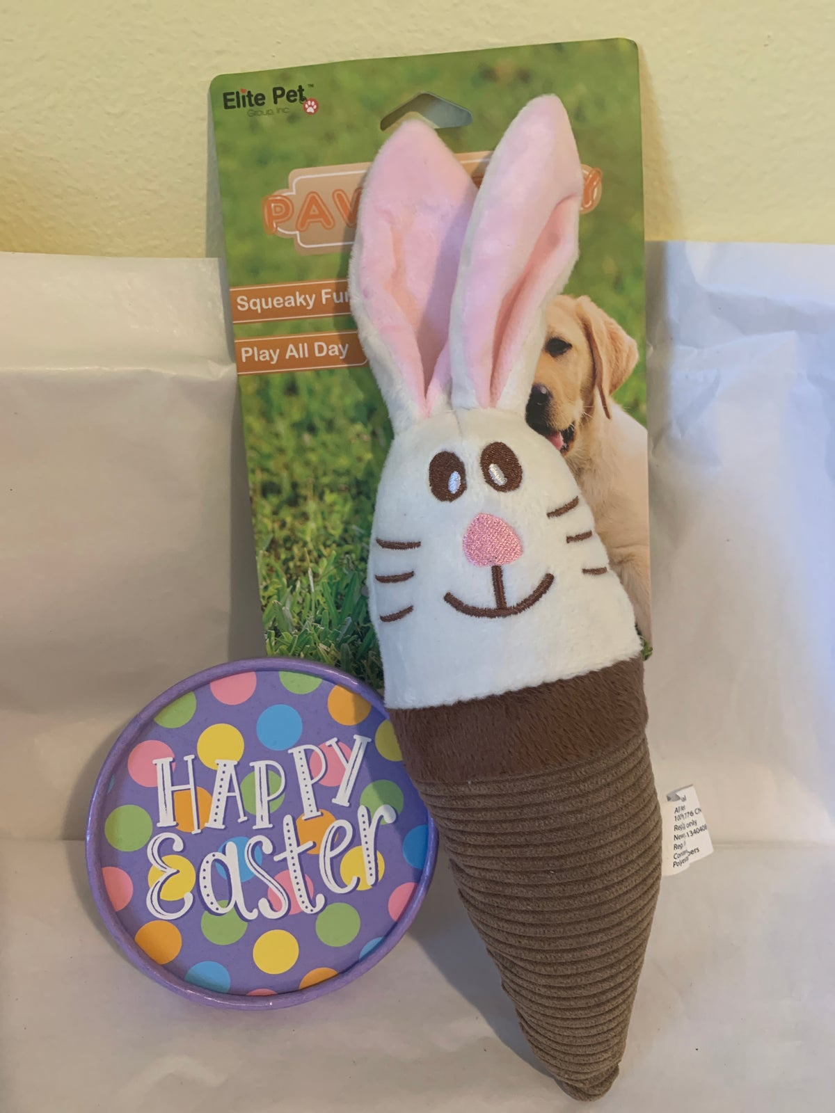 Image of Easter Bunny Dog Toy