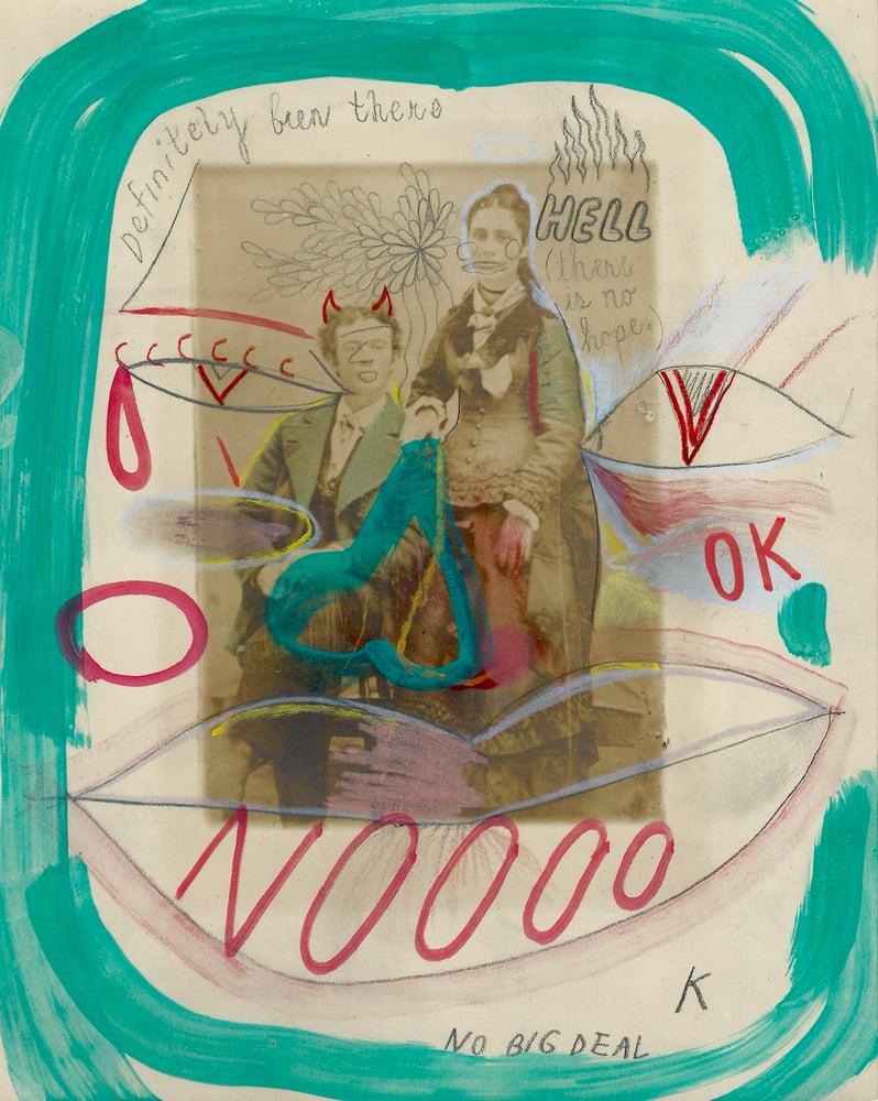 """Image of """"NO BIG DEAL"""" ORIGINAL ART 9 X 7"""
