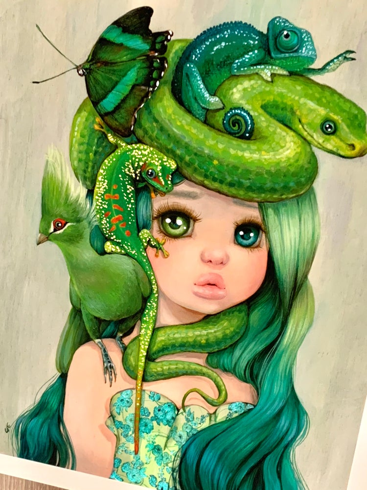Image of Viridi ARTIST PROOF - Ltd Ed - Hand Embellished