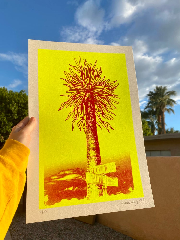 Image of Desert Beach Print