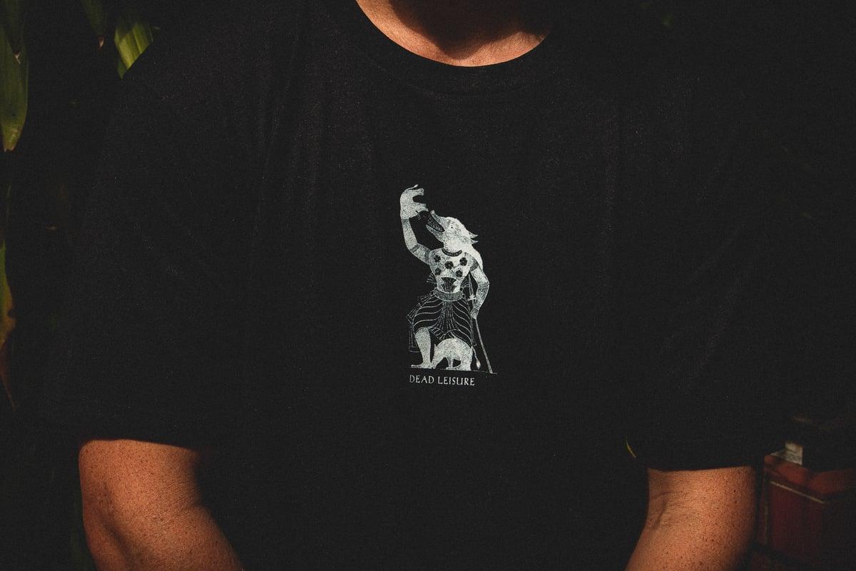 The Greatest Demon T-shirt - Black Heather
