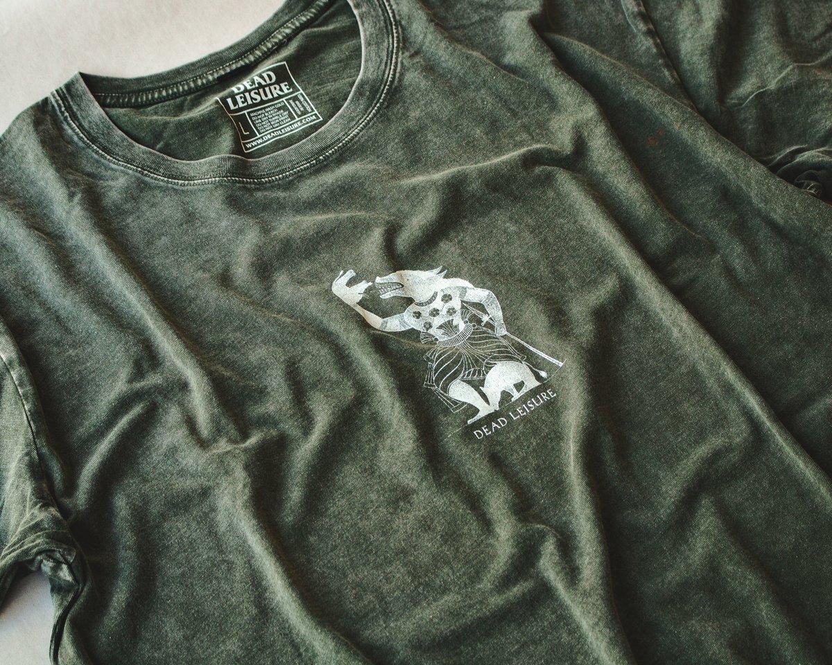 The Greatest Demon T-shirt - Moss Stone
