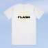 FLASH Mondo T-Shirt - White Image 2